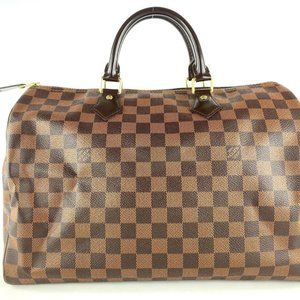Louis Vuitton Damier Ebene Speedy 35 Boston GM